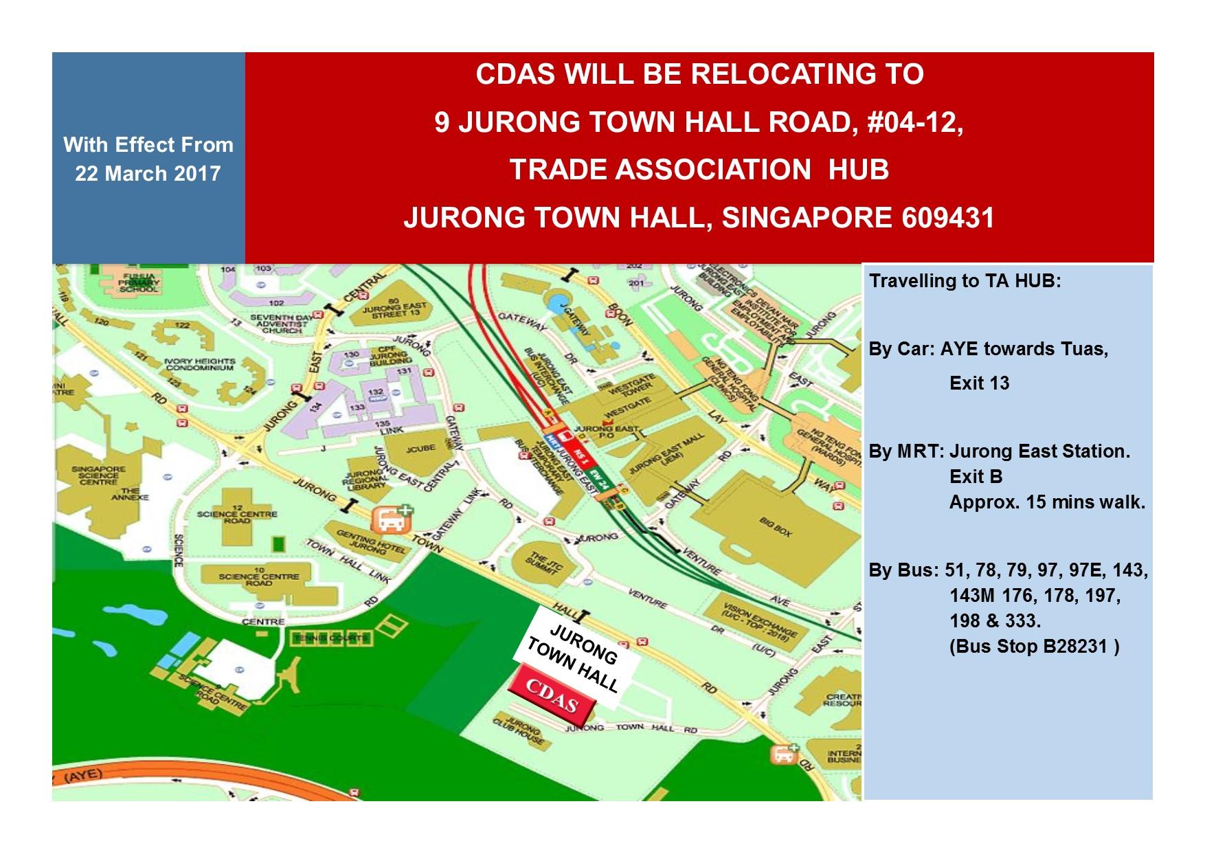 CDAS Relocation